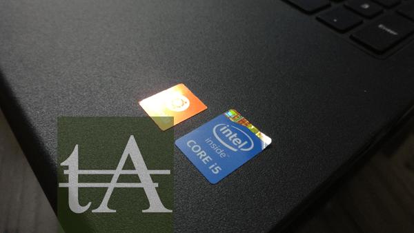 GreenDust Dell Laptop Intel Logo