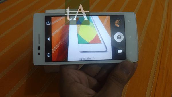 Oppo Neo 5 Camera UI