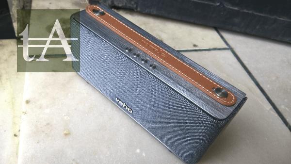 Veho M6 360 Mode Retro Bluetooth Speaker Top