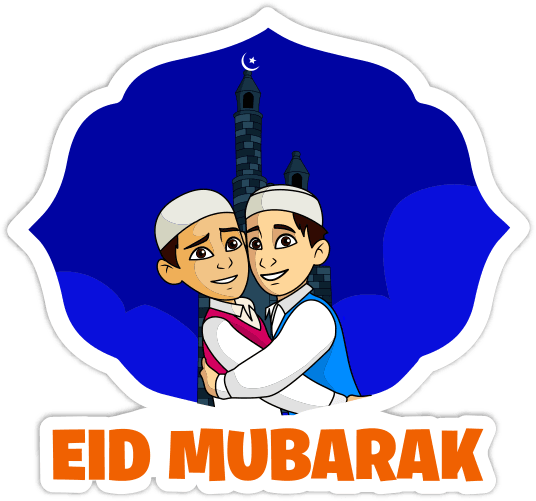 Hike EID Stickers