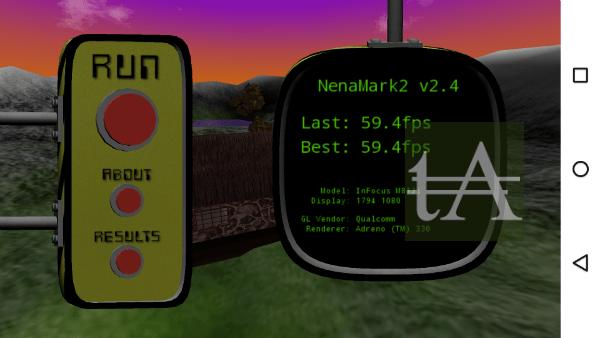 InFocus M812 Benchmark NeNa Mark2
