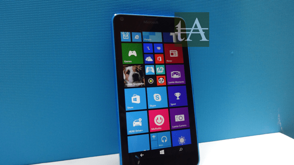 Microsoft Lumia 640 Front
