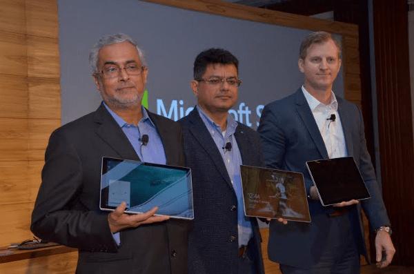 Microsoft Surface Pro 4 India Launch