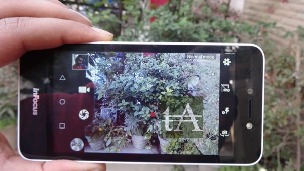 InFocus Bingo 10 Camera UI