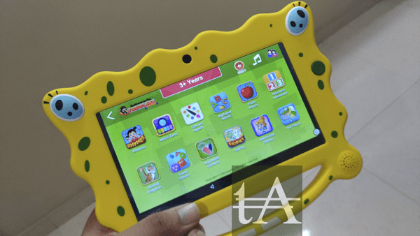 Extramarks Toddlers Tablet Contents