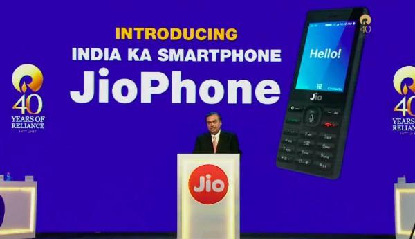 JioPhone Announcement