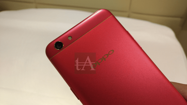 Oppo F3 Diwali Limited Red Edition Front