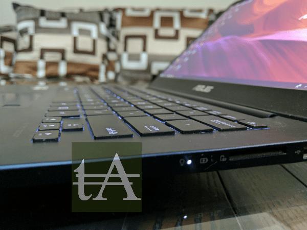 Asus ZenBook UX430 Keys