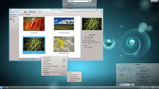 KDE 4.7.0