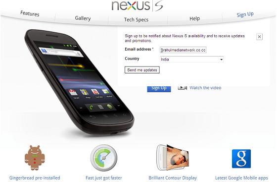 Singup_For_Nexus-S_Launch_Notification