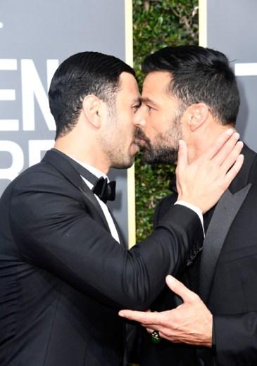 Beso en la boca? Así captaron a Ricky Martin y su novio en los ...