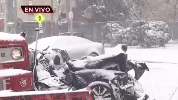 [TLMD - NY] Mortal y aparatoso accidente en Newark