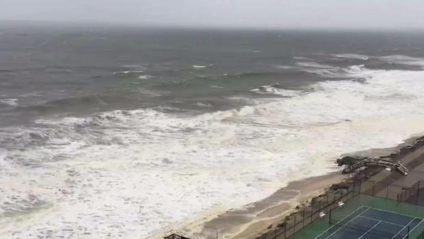 [TLMD - NY] Tempestad comienza a azotar costas de NJ