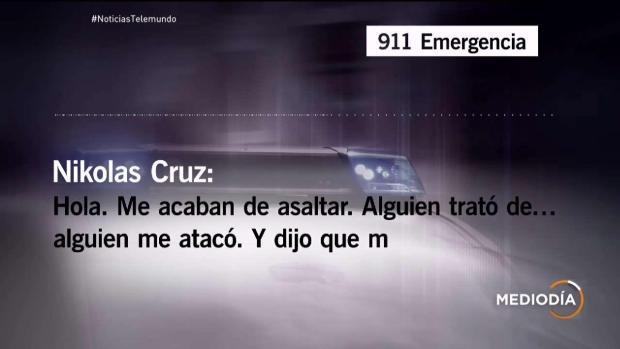 [TLMD - MIA] Llamada de Nikolas Cruz al 9-1-1