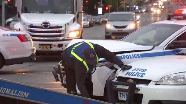 [TLMD - NY] Policía: sujeto armado provoca aparatoso choque en Brooklyn