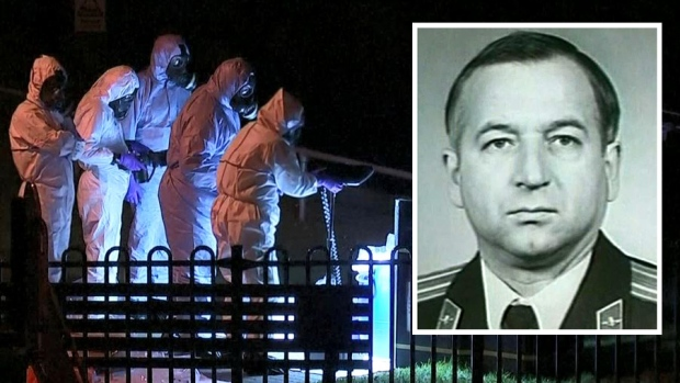 Misterio: exespía ruso colapsa en charco de vómito
