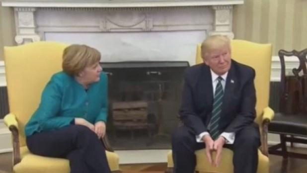 Trump y Merkel vuelven a hablar de espionaje