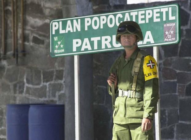 Fotos: Vida al lado del Popocatépetl
