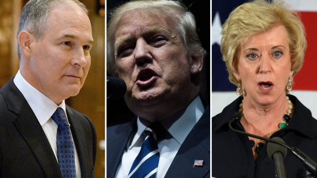 El controversial gabinete de Donald Trump
