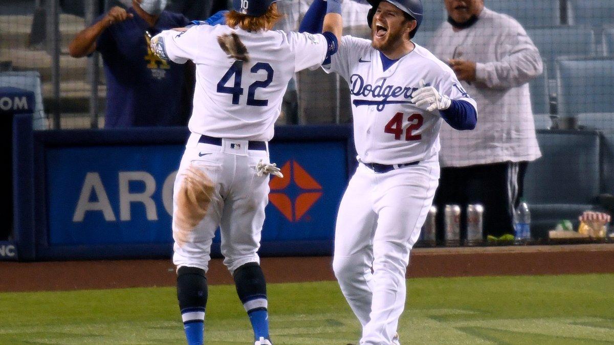 Dodgers celebran el Día de Jackie Robinson con sexto triunfo seguido