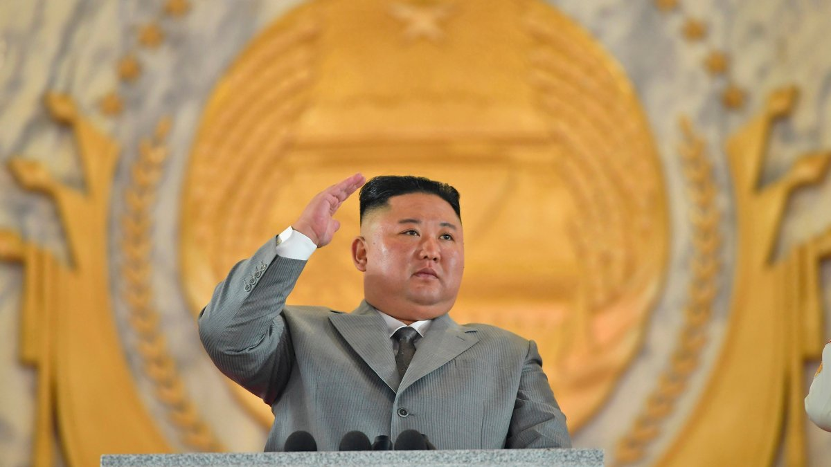 North Korea tests unidentified projectiles from its east coast