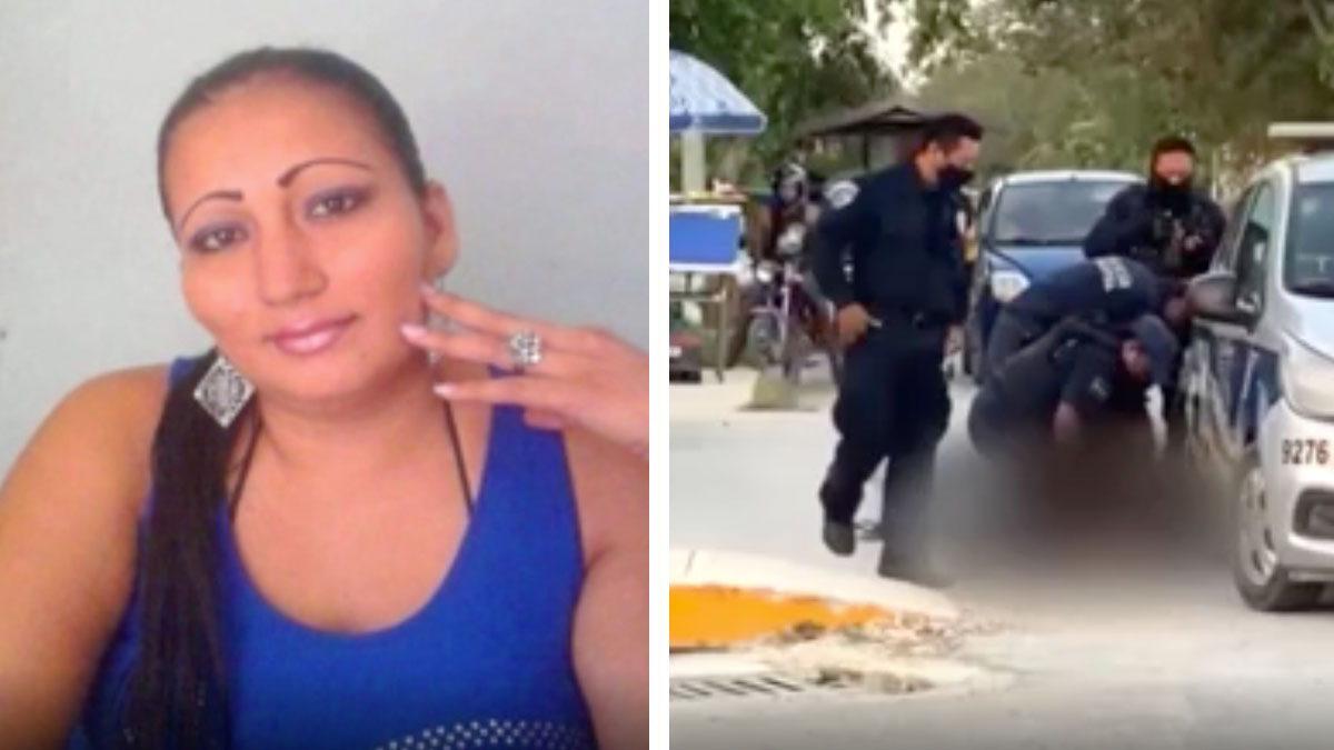 They arrest the boyfriend of a Salvadoran woman who died after being subjected by police in Mexico