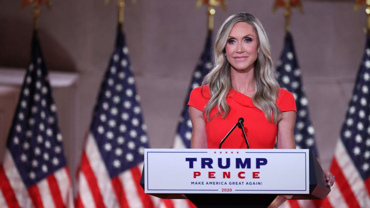 The daughter-in-law of former president Trump evaluates running as a candidate