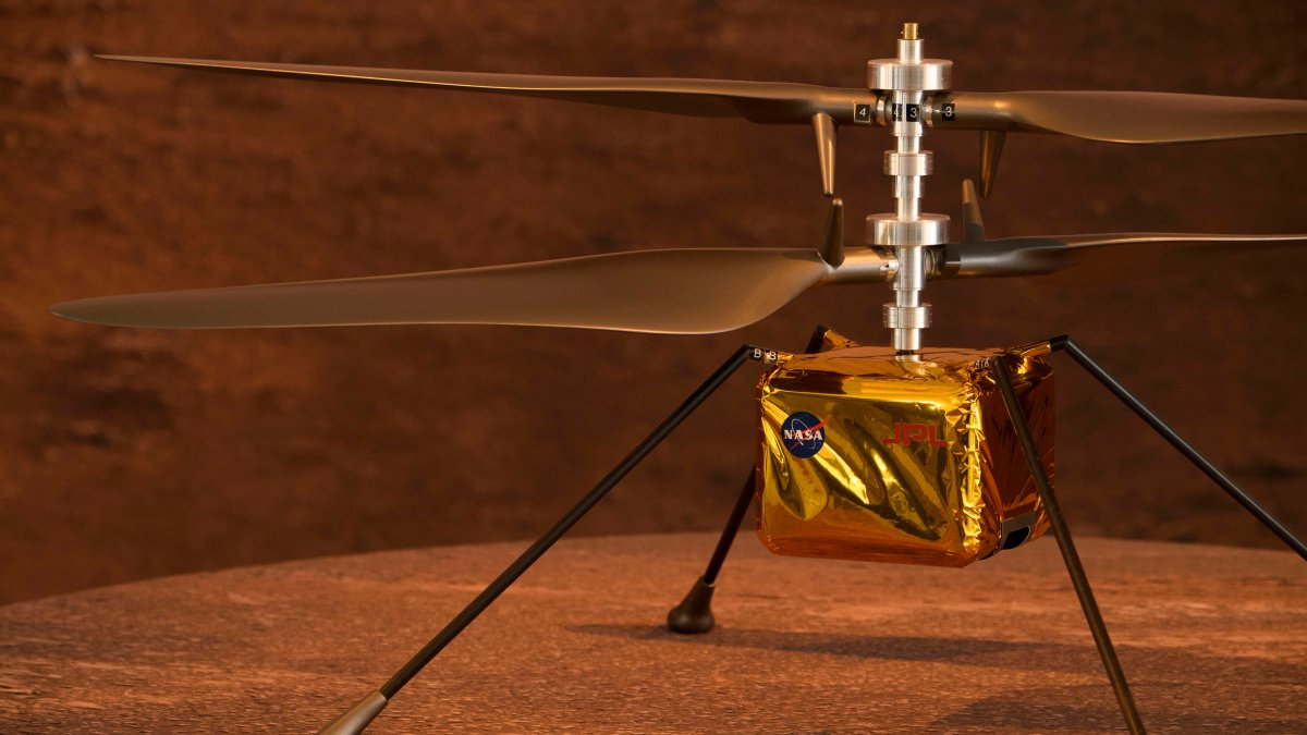 NASA postpones historic flight of its Ingenuity helicopter over the planet Mars