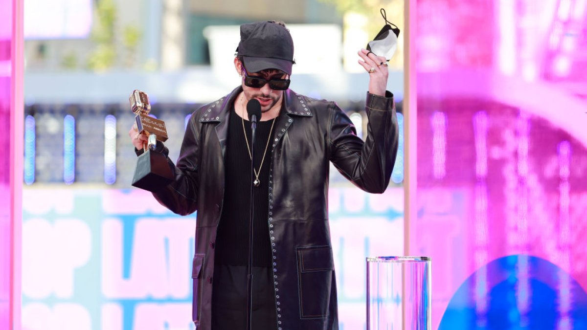 The message that Bad Bunny sent in Spanish after winning an important award at the Billboard Awards
