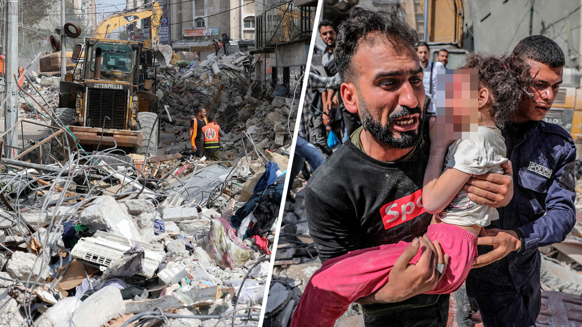 Israel launches its deadliest bombing of Gaza since violence erupted: 33 dead, including 8 children