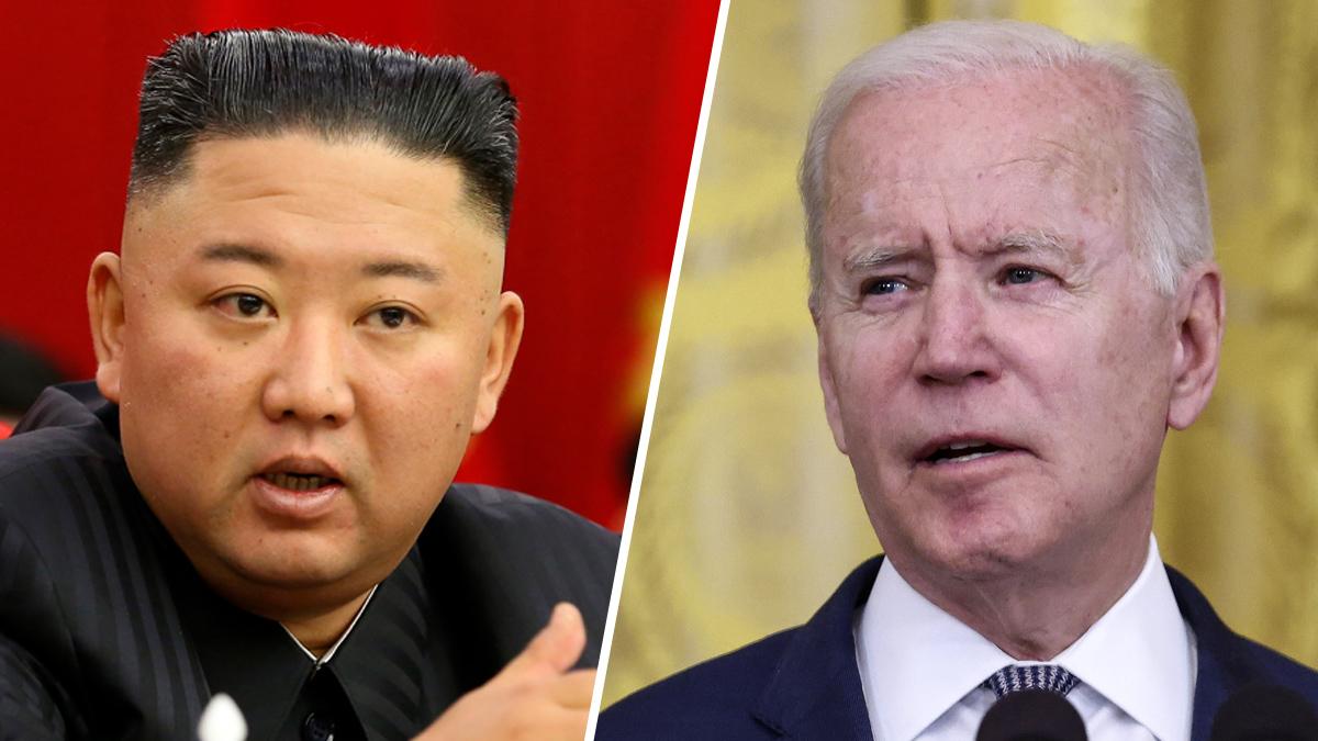 Kim Jong Un addresses Biden with hostile message