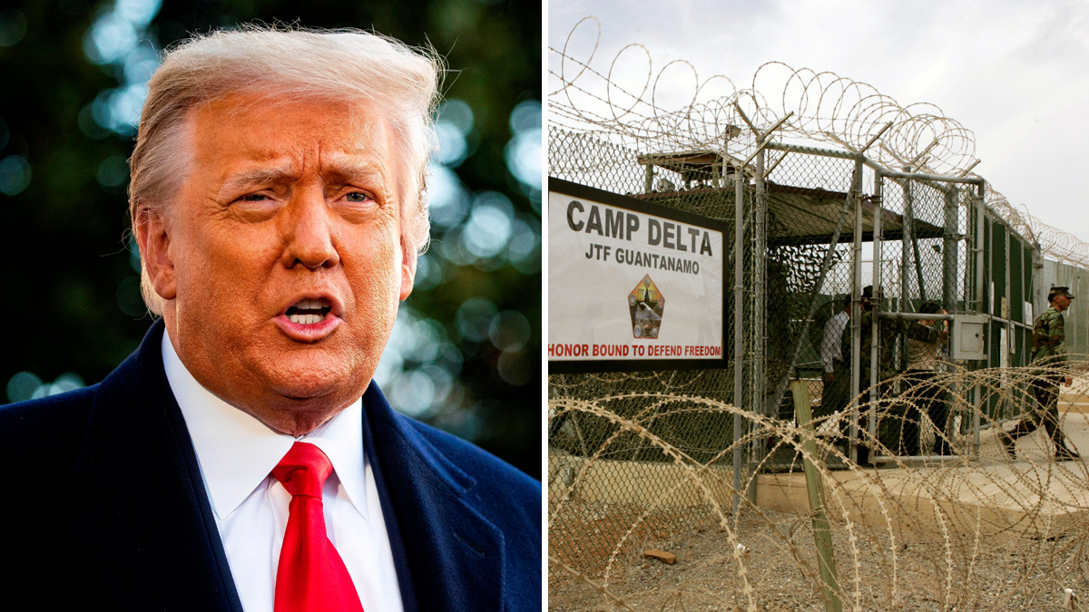 Trump had proposed to send Covid-19 patients to the Guantanamo base