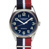 Regimental bleu bracelet rouge bleu clair bleu Spalding, 185€