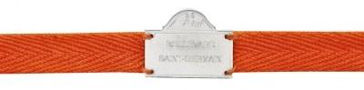 Bracelet orange Boulevard Saint Germain