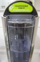 cuve rechargeable simplehuman
