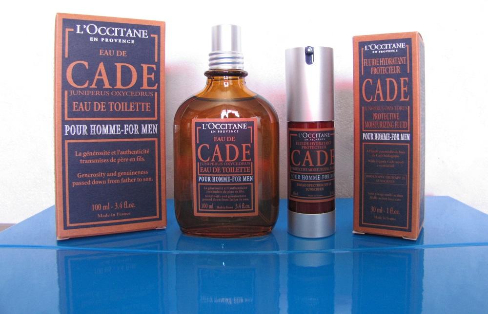 edt et fluide hydratant Cade Occitane en Provence