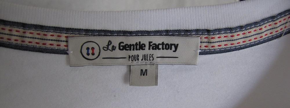 etiquette la gentle factory pour jules