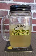 Mason Jar lynchburg lemonade
