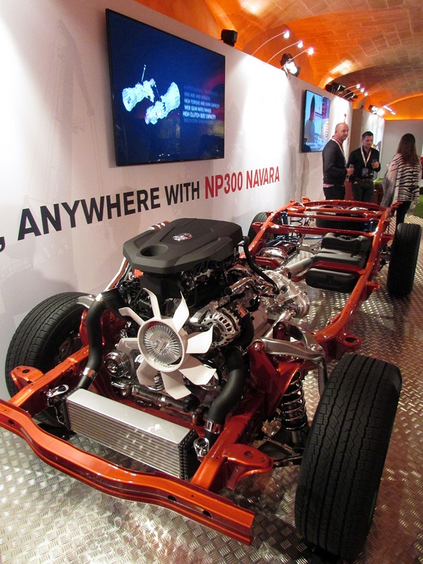 chassis navara np300