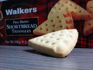 pure butter shortbreads walkers triangles