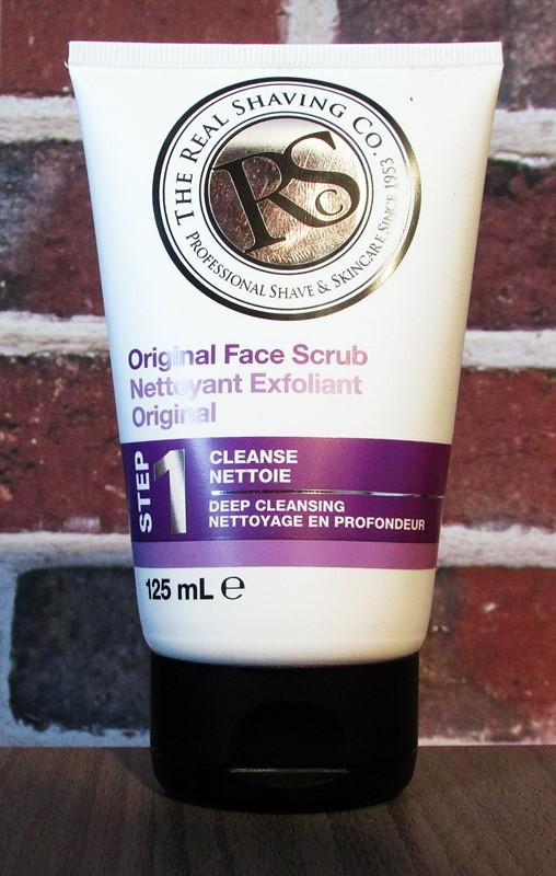 real shaving co nettoyant exfoliant original