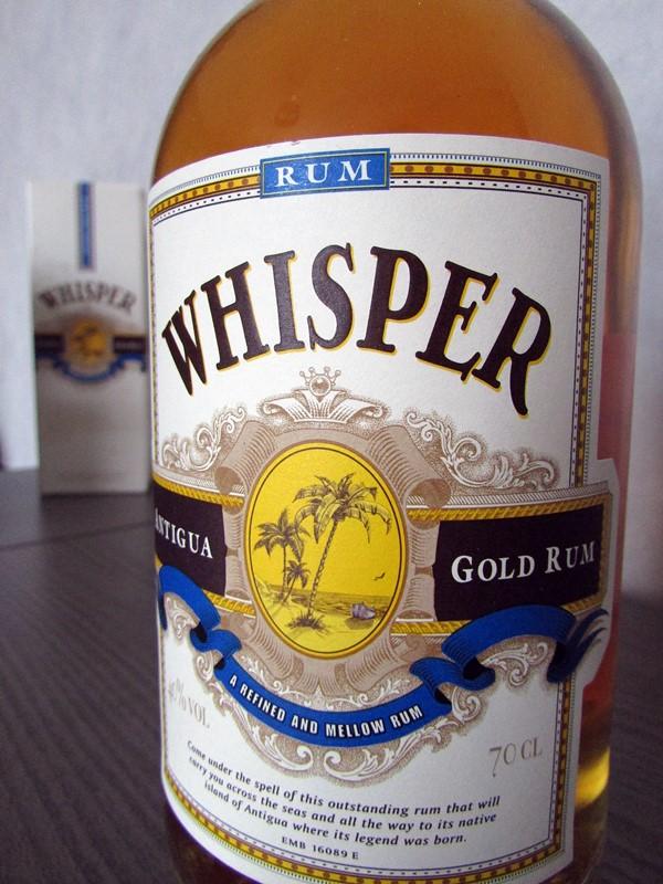 rhum whisper
