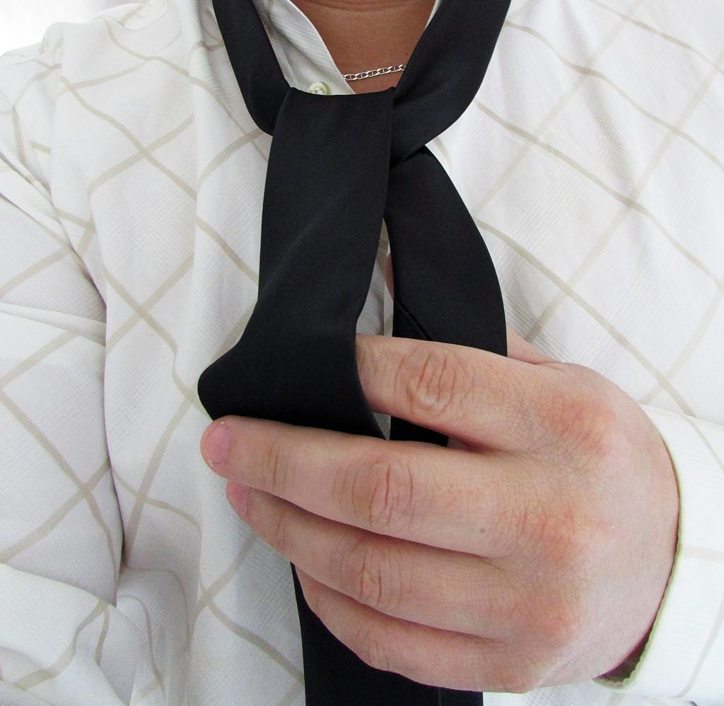 bandit box - cravate noire