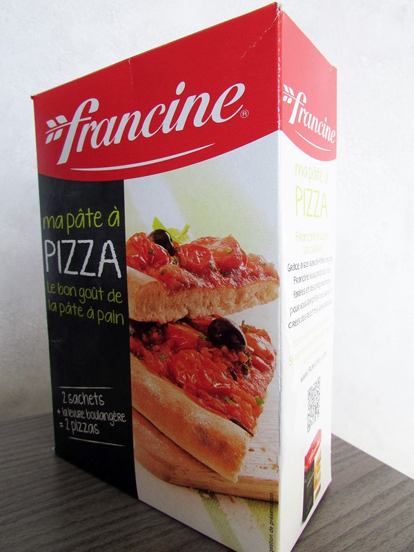 pate a pizza francine - degustabox printemps