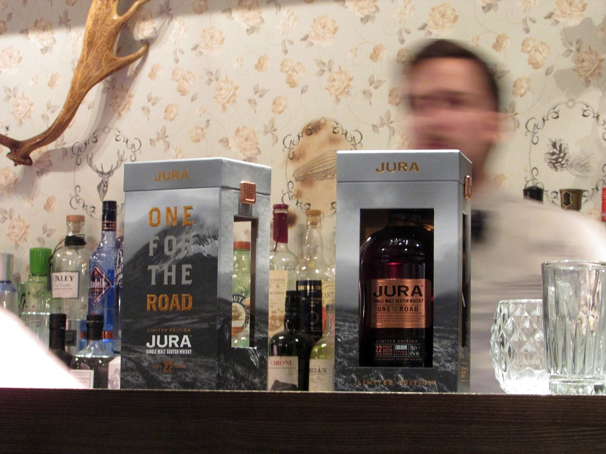 Jura Whisky One for the road coffret