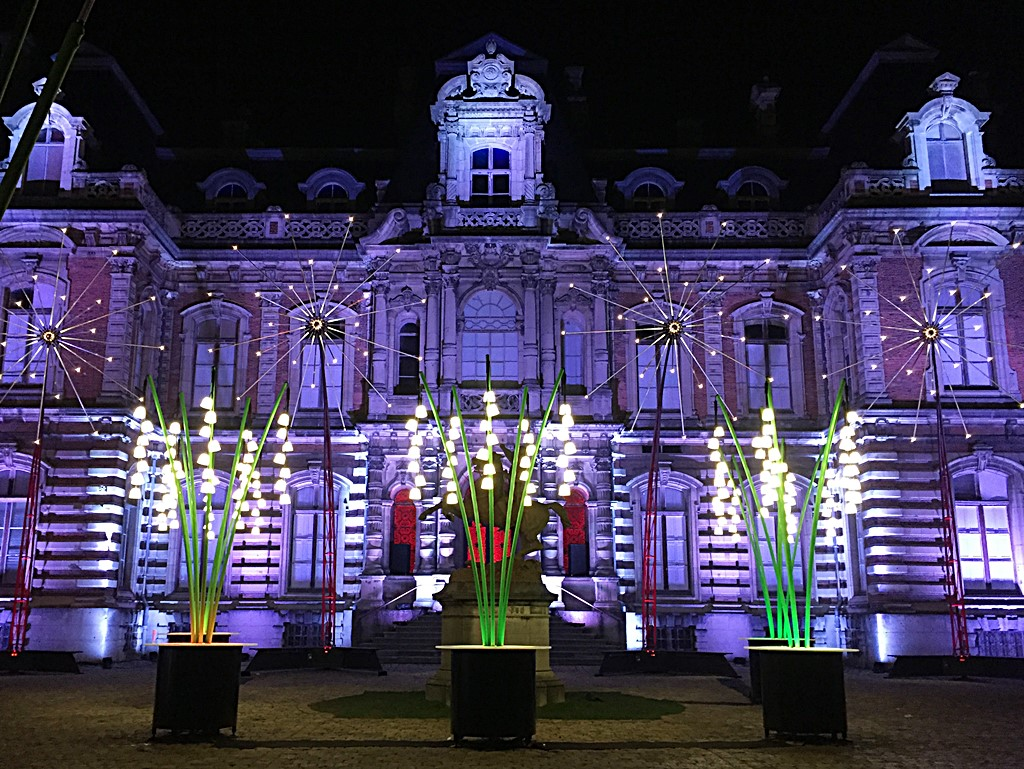 illuminations lumineuses monumentales chateau perrier epernay