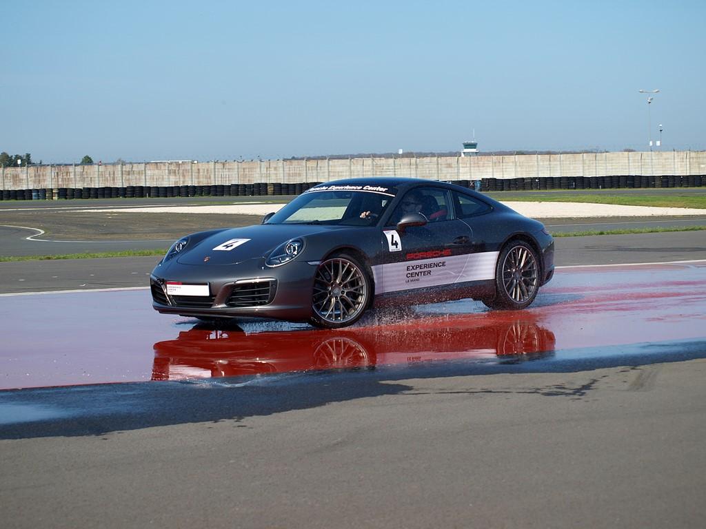 Porsche Experience Center - porsche kick plate