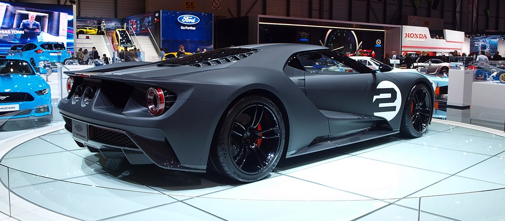 supercars Ford GT 66 Heritage Edition