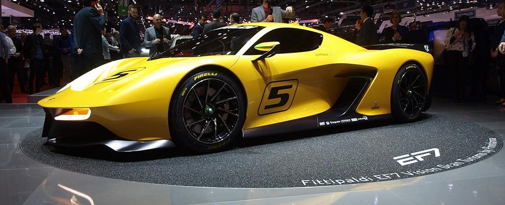 supercars Pininfarina EF7 avant