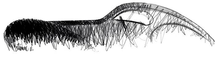 bugatti aerolithe sketch